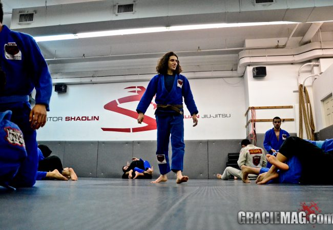Shaolin's Well-Run NYC Academy and His Half Guard to Back Take