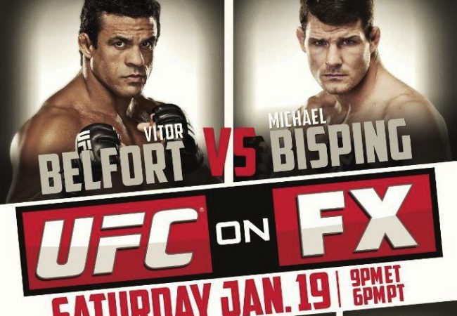 'UFC on FX 7: Belfort vs. Bisping' Quick Results