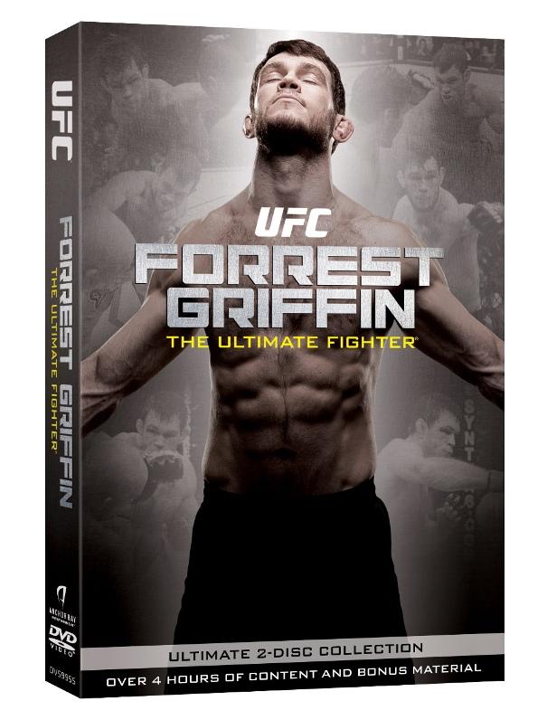 """Capa do documentário """"Forrest Griffin – The Ultimate Fighter"""". Foto: Divulgação"""