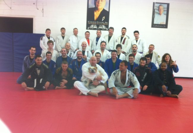 Cyborg seminar and new belts at Buffalo BJJ