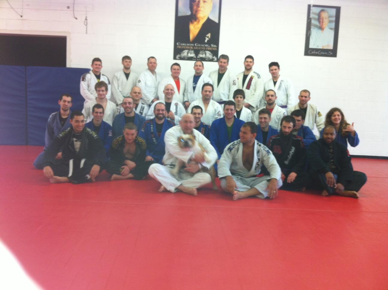 Chuck Anzalone, Cyborg, and the Buffalo BJJ team