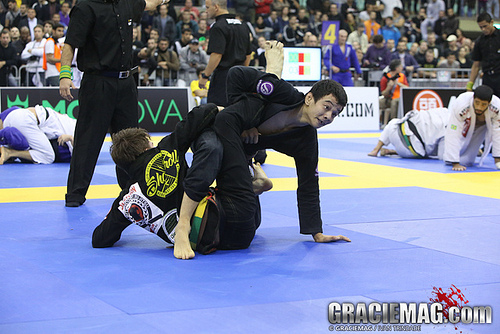 The Final between Paulo Miyao and Gianni Grippo at 2013 European Open