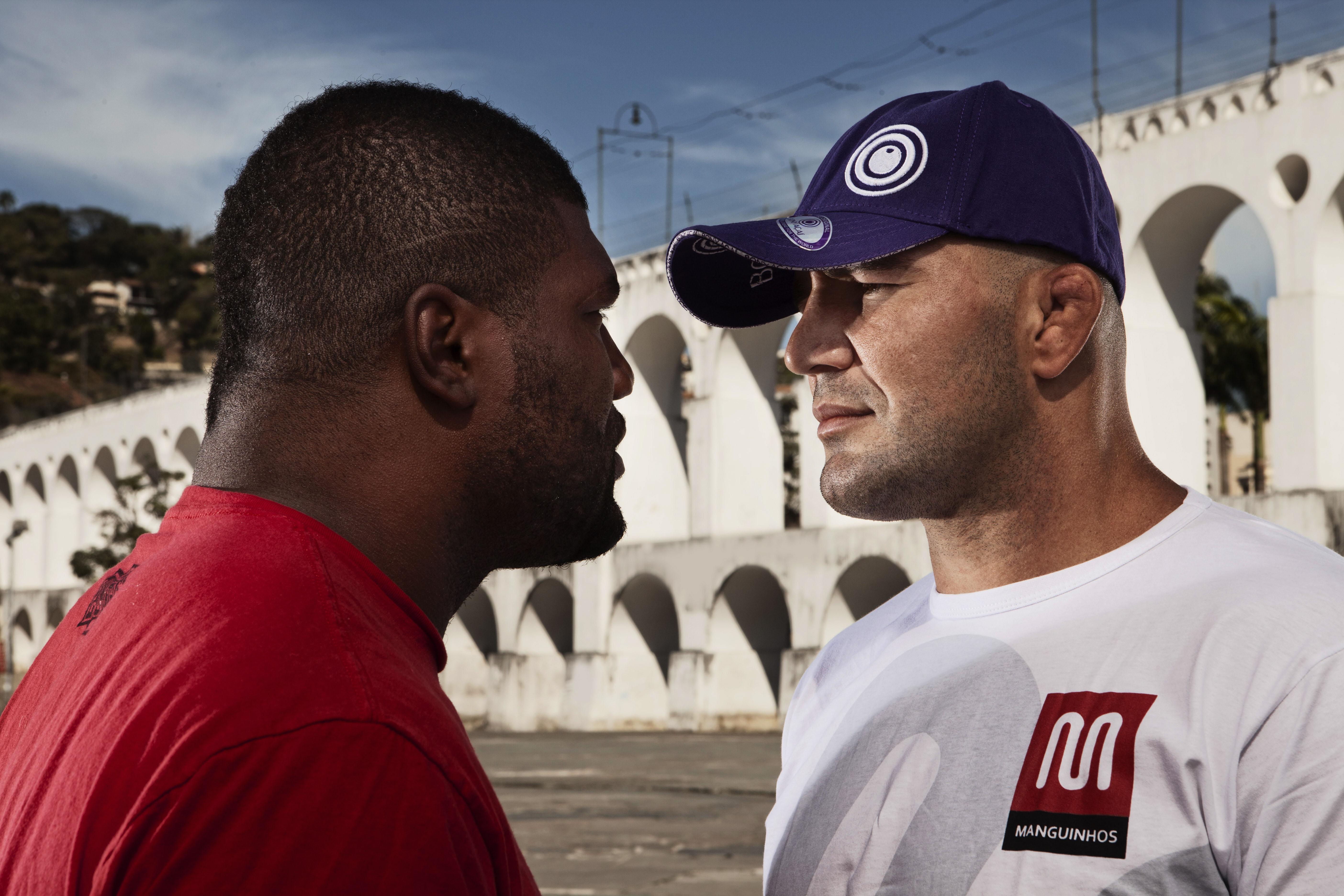 Rampage e Glover voltam a se encarar em 2013. Foto: UFC/Divulgação