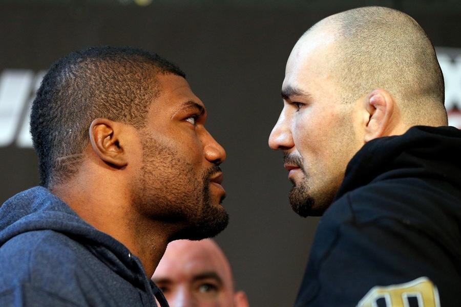 Rampage Jackson encara Glover no coevento principal da noite. Foto: Divulgação/UFC