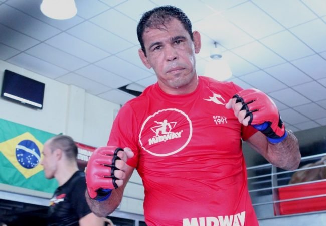 Rogerio Nogueira Enlists GSP's Wrestling Coach for UFC 156