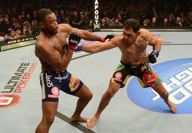 """Minotouro e a luta com Rashad Evans: """"Senti a falta de ritmo"""""""