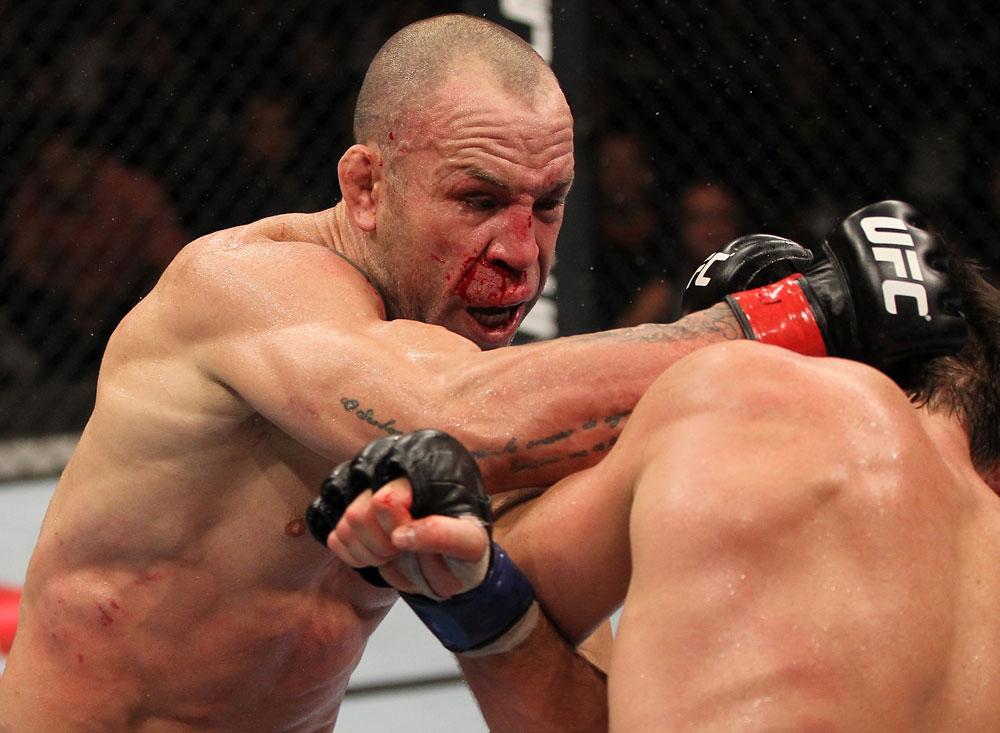 Wanderlei Silva em busca de mais um bônus no UFC. Foto: Josh Hedges/Zuffa LCC via Getty Images