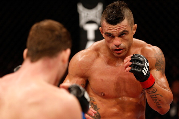 According to UFC officials, Vitor Belfort is undergoing TRT to treat hypogonadism. Photo by Josh Hedges/Zuffa LLC/Zuffa LLC via Getty Images