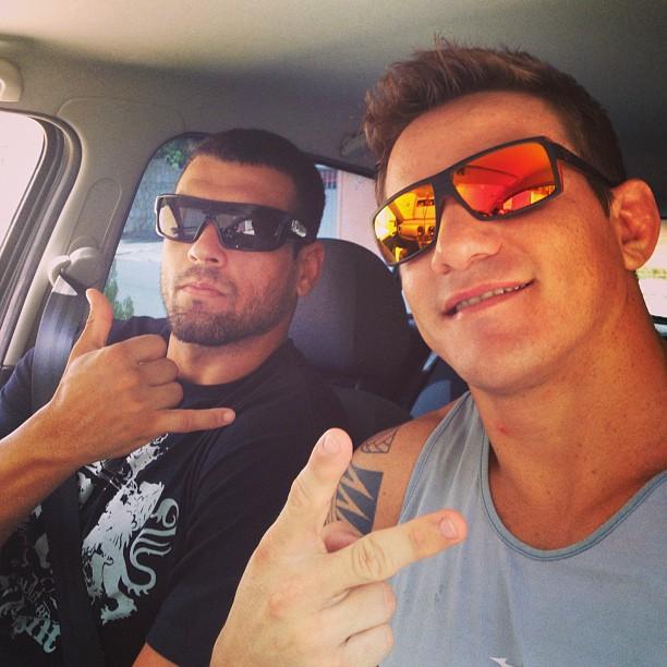 Tarcísio Jardim e Nivaldo Oliveira estão treinando forte na Paraíba para fechar em Gramado. Foto: Arquivo Pessoal