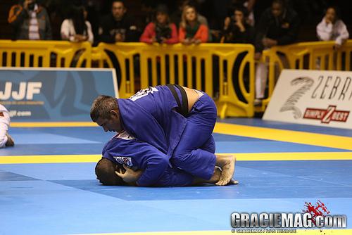 Nino Schembri em ação no Jiu-Jitsu. Foto: Ivan Trindade