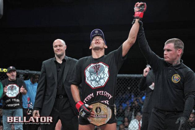 Dudu Dantas solta o braço e mantém o título do Bellator