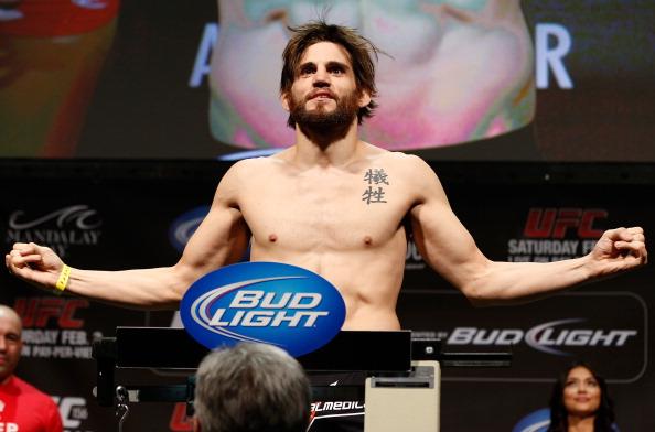 Fitch causa espanto ao ser desligado do UFC junto a mais 15 lutadores. Foto: Josh Hedges/Zuffa LCC via Getty Images