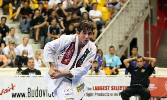 Mendes in World Jiu-Jitsu Championship 2009. Photo: Ivan Trindade.