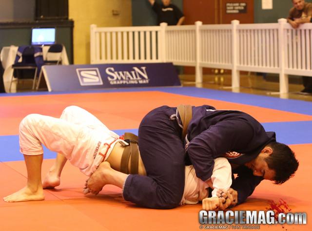 Manny Diaz dominated the brown belt!