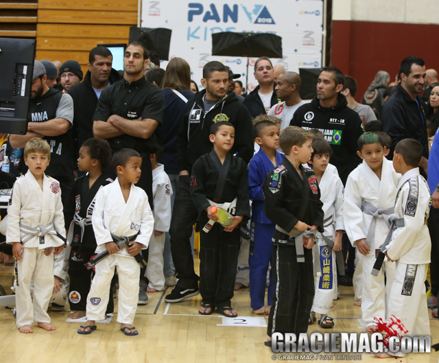 It is all about the kids at the 2013 Pan Kids IBJJF Jiu-Jitsu champiobnship