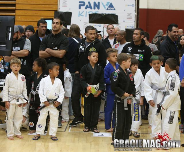 It is all about the kids at the 2013 Pan Kids IBJJF Jiu-Jitsu champiobnship
