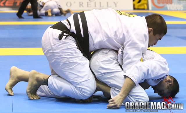 Caio Terra did what he could against Gustavo Elias in San Francisco