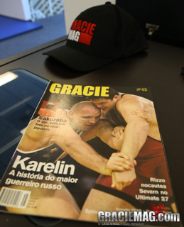 Olympic Wrestling took over the cover of GRACIEMAG in 2000