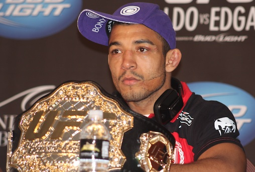 Listen to the UFC 163 media call with Jose Aldo, Lyoto Machida and others