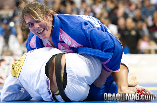 "Gabi Garcia: ""Watching Ronda in the UFC has thrilled me! I really want to fight MMA!"""