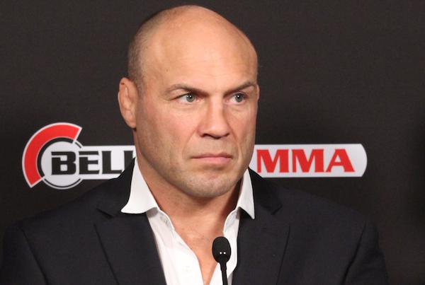 Integrante do Hall da fama do UFC, Couture agora faz parte do Bellator. Foto: Erik Fontanez/GRACIEMAG