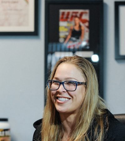 Do you think you can dance like Ronda Rousey can?