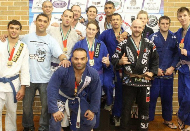 With Royce Gracie in Attendance, Competitors in Australia Shine