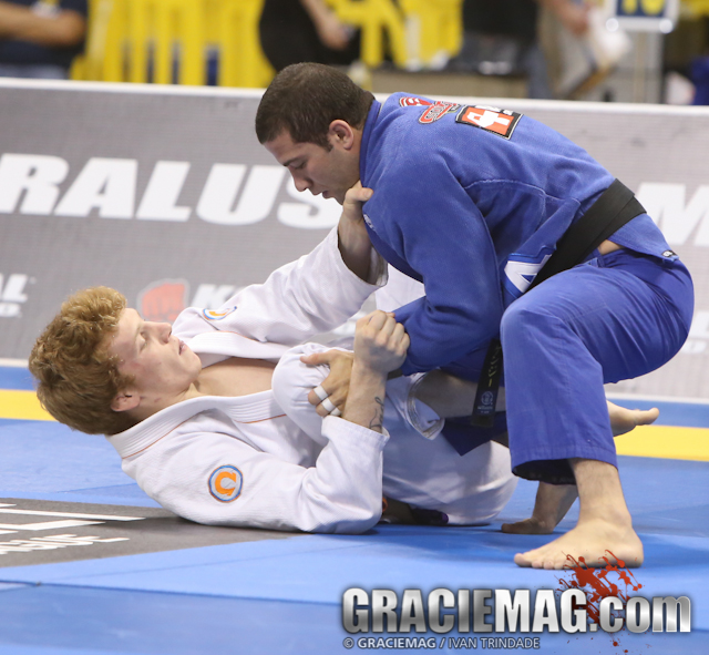 Tanner Rice at the 2012 IBJJF Pro League