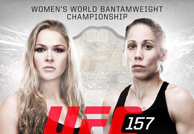 Poster do UFC 157. Foto: UFC/Divulgação