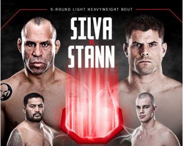 Assista à coletiva de imprensa do UFC Japão: Silva vs Stann ao vivo