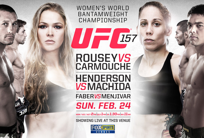 VIDEO: Watch the UFC 157 Weigh-Ins Live on GRACIEMAG.com