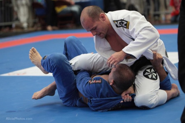 How about a Half-Guard Sweep Using the Knee?