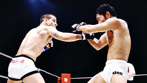 Você lembra de Dedé Pederneiras nos tempos de lutador?