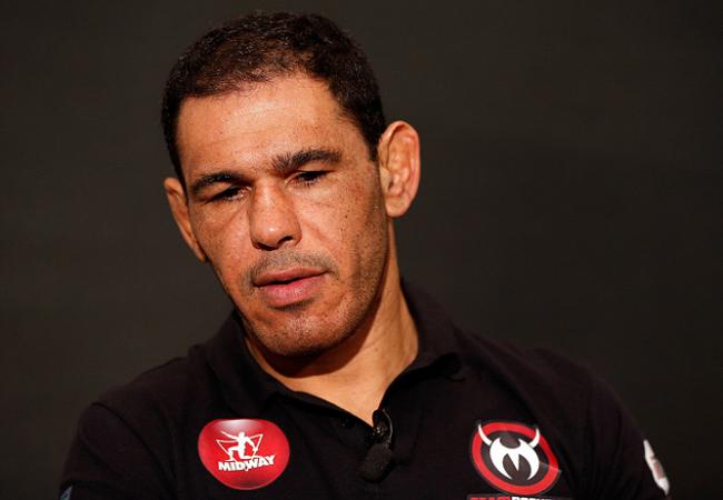 Minotouro e o treino mental na véspera do UFC 156