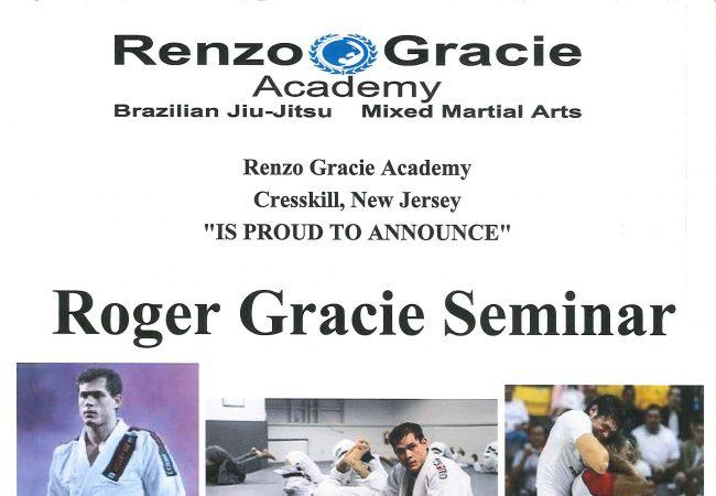Catch a Roger Gracie Seminar at Renzo Gracie Cresskill