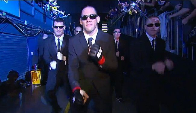 VIDEO: Watch UFC's James Te-Huna's MIB-Themed Entrance
