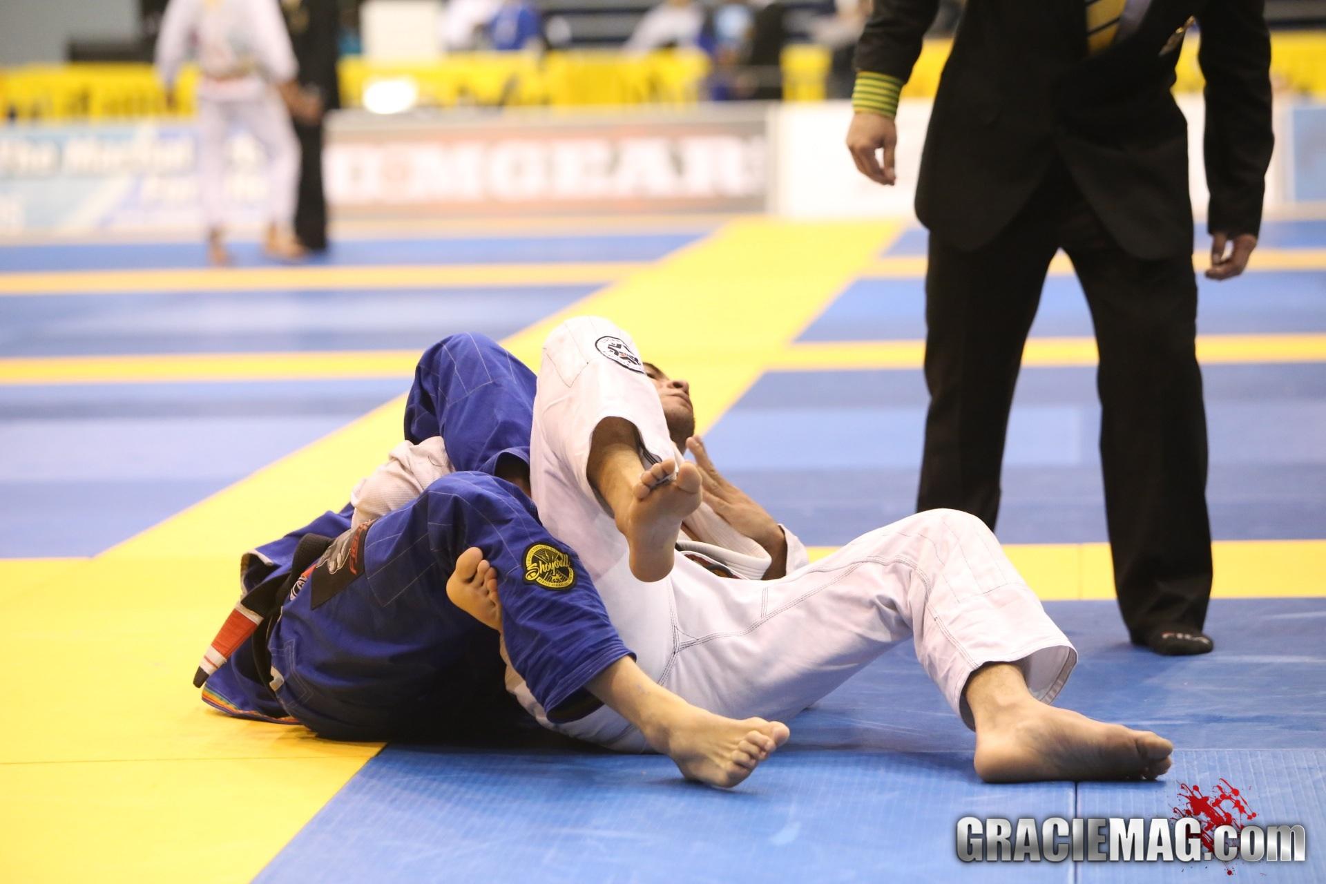 Clark Gracie vs. Marcelo Mafra