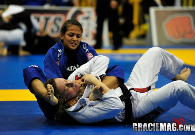 2013 Pan: Female black belts decide open weight final match
