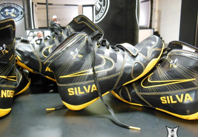 Like Michael Jordan before him, UFC champ Anderson Silva has his name on a pair of Nike's