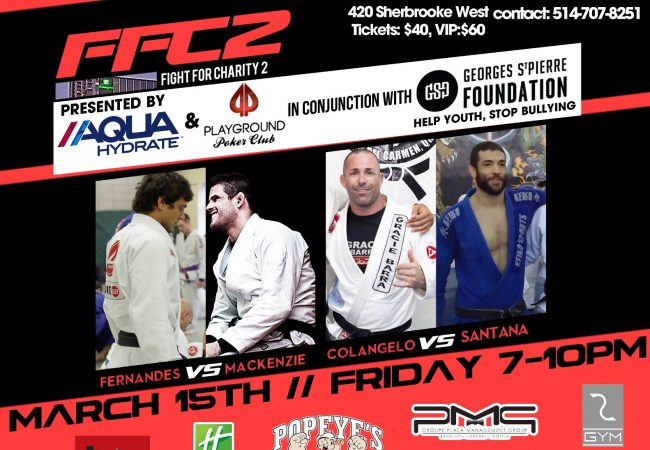 Fight for Charity 2 sets superfights for donation to GSP anti-bullying foundation