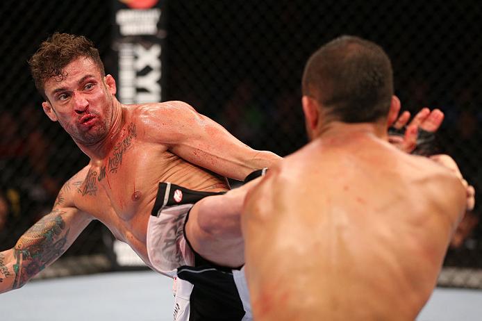 Cristiano Marcello espera seguir vitorioso no UFC. Foto: Josh Hedges/Zuffa LCC via Getty Images