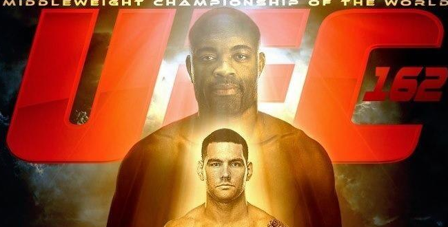 This 'UFC 162: Silva vs. Weidman' poster looks just as awesome as expected