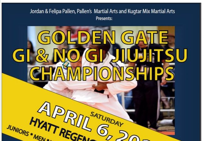 Register for the Golden Gate Gi & No-Gi Jiu-Jitsu Championship April 6!
