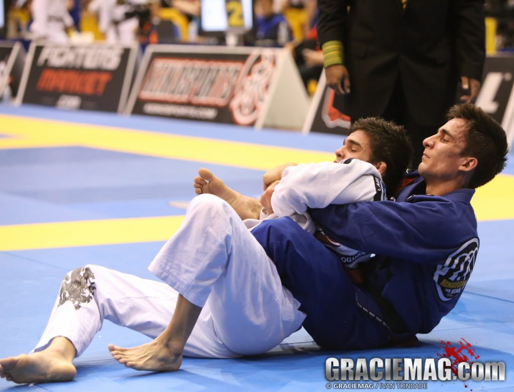 Guilherme Mendes at 2013 IBJJF Pan light-featherweight