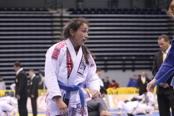 Invicta FC champ Carla Esparza earns silver at 2013 Pan Jiu-Jitsu Tournament