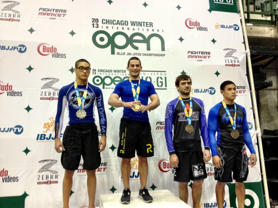 Rio Pro BJJ atop podium in Chicago