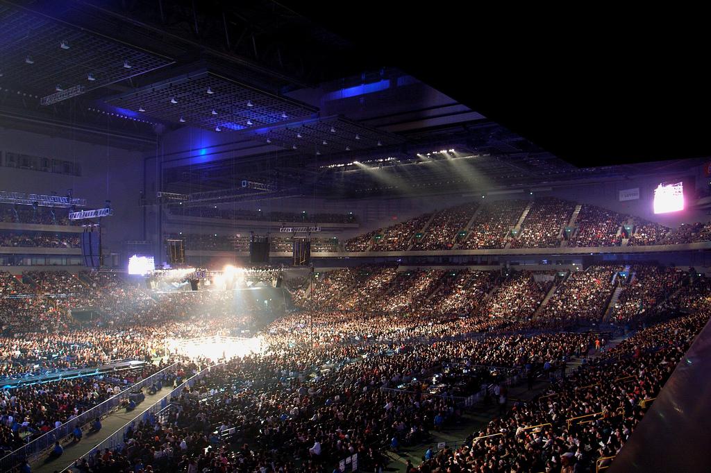 O UFC no Japão promete lotar o Saitama Super Arena. Foto: Divulgação