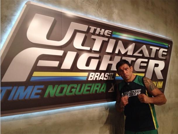 """Minotauro é o líder do time verde do """"TUF Brasil 2"""". Foto: Reprodução/Twitter"""