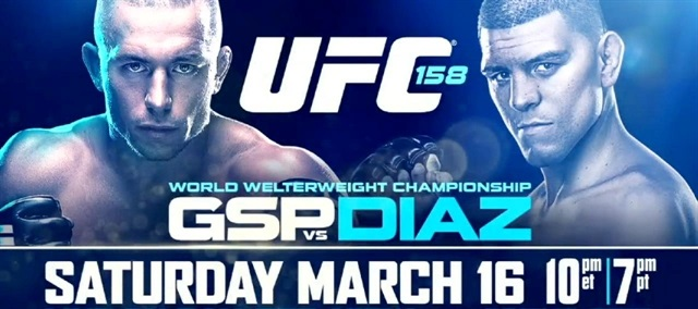 UFC 158: GSP vs Diaz