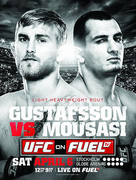 Pôster oficial do UFC on Fuel 9. Foto: Divulgação/UFC